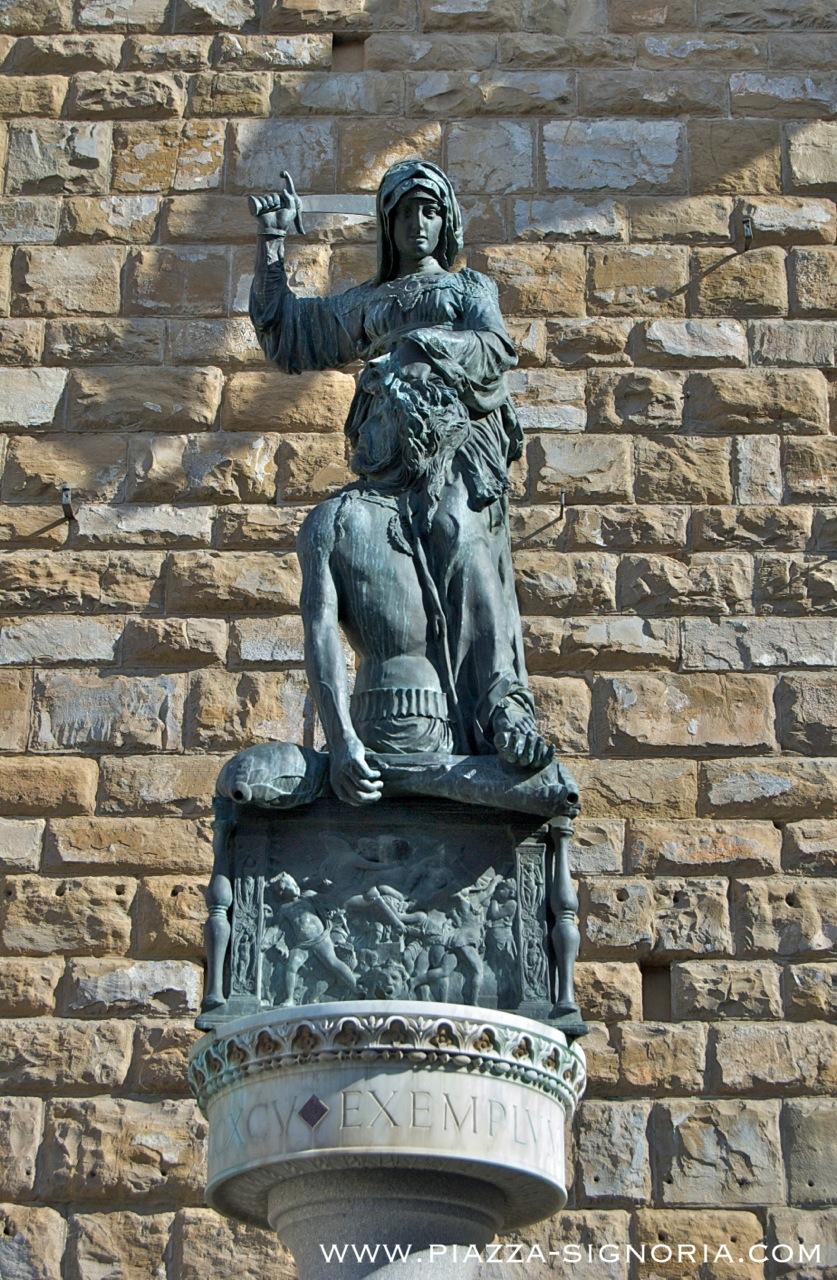 Judith and Holofernes by Donatello - Piazza della Signoria