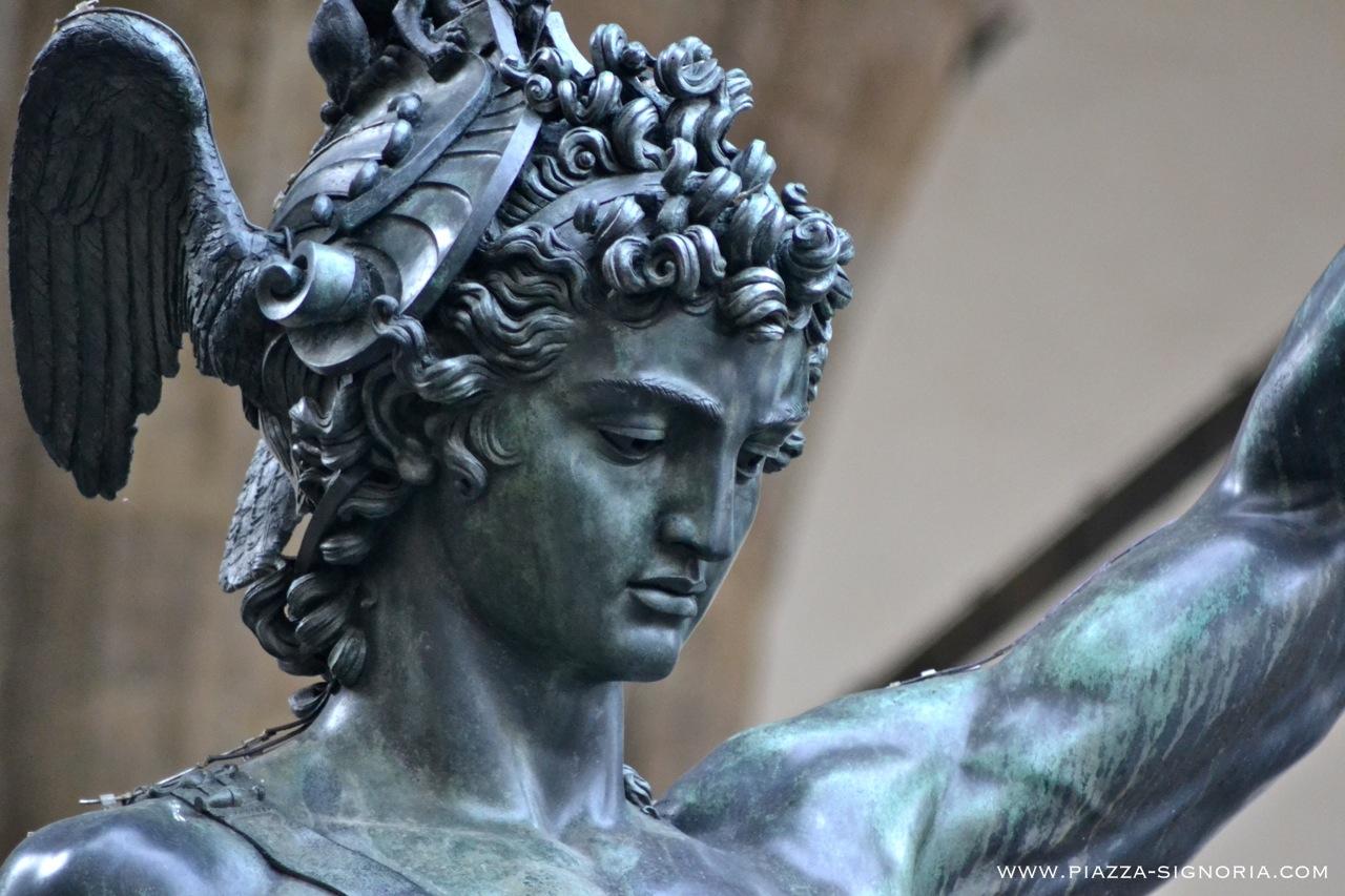 Perseus With The Head Of Medusa By Cellini Piazza Della